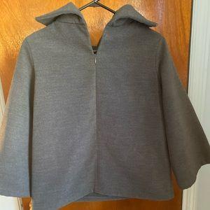 pullover zip up sweatshirt